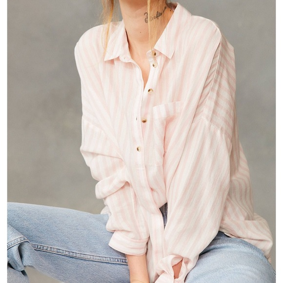 4f534ab0 BDG Tops | Urban Outfitters Stripe Button Down Shirt | Poshmark